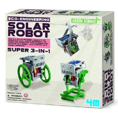Eco-Engineering: Solar Robot 3-in-1 Green Science Kit