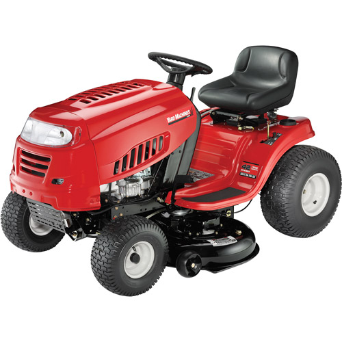 "Yard Machines 42"" 420cc MTD Powermore Riding Mower with Shift-on-the-Go Drive System"