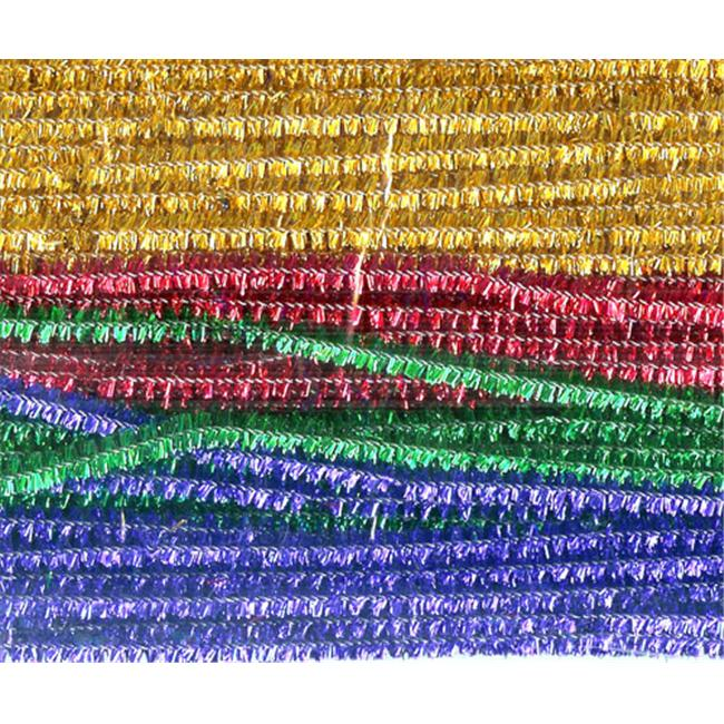 CHENILLE KRAFT COMPANY CK-711601 CHENILLE STEMS ASSORTED 12 SPARKLE