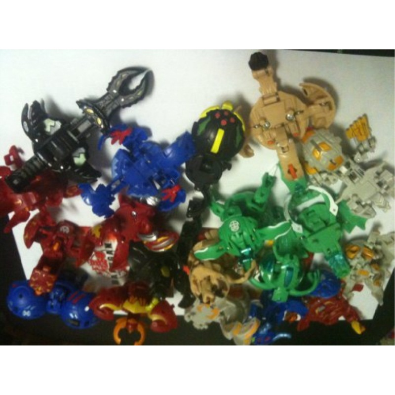 bakugan (season 2) lot of 6 bakugans (random selected) [toy]