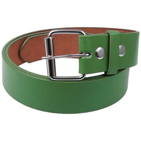 Green Action Leather (Green Leather Belt )