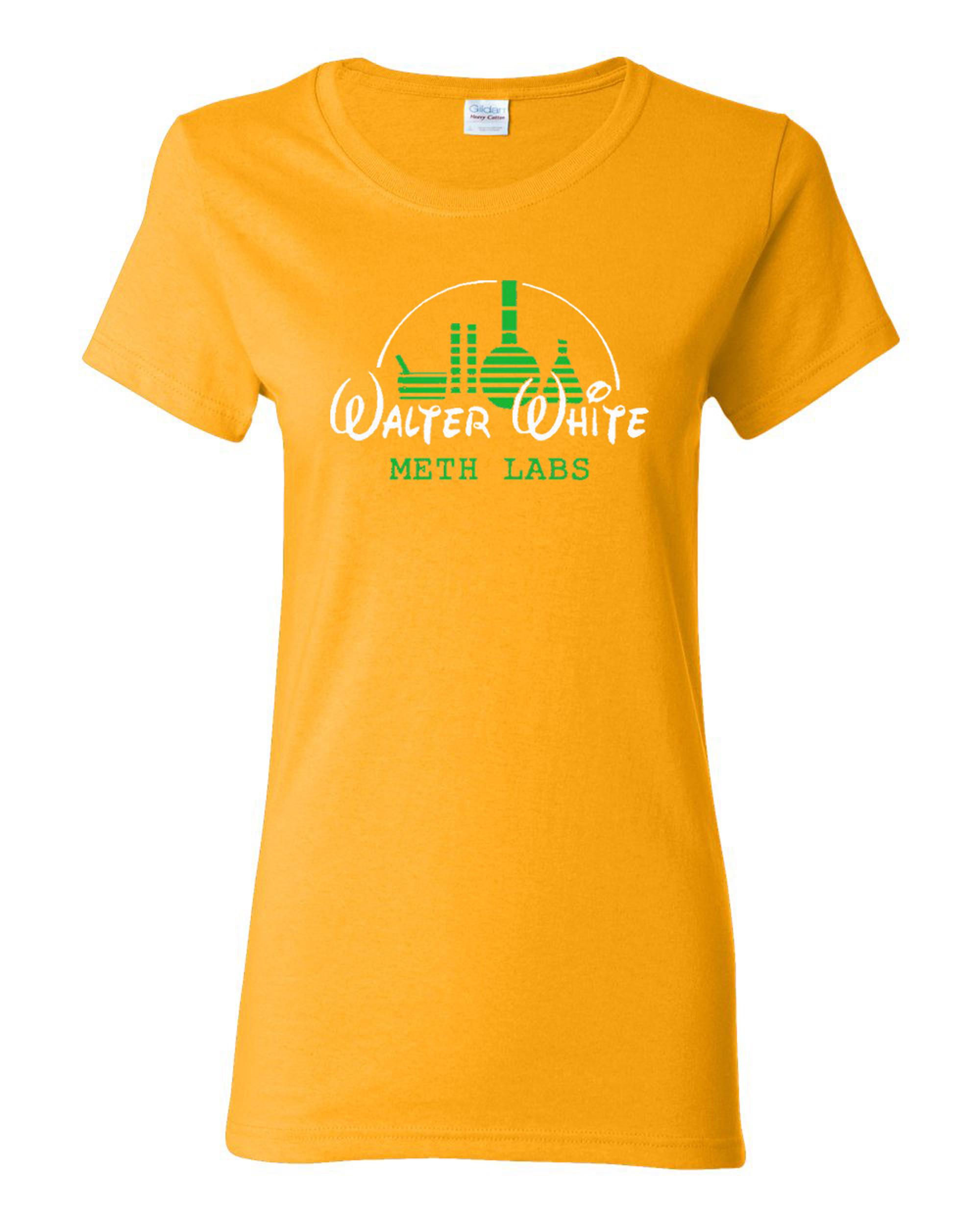 Ladies Walter White T-Shirt Tee