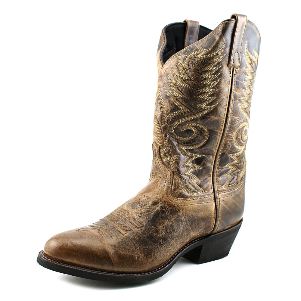 Laredo Riley Men  Round Toe Leather  Western Boot