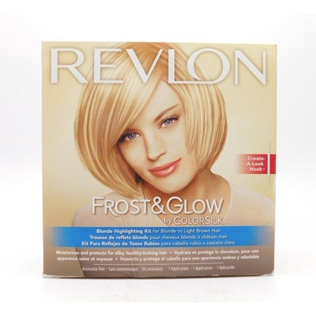 Revlon Frost & Glow by Colorsilk Blonde Highlighting Kit for Blonde to Light Brown Hair 1