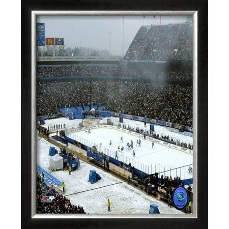 Ralph Wilson Stadium Framed Photographic Print Wall Art  - 22.5x18.5