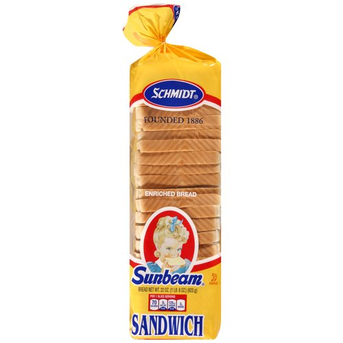 Sunbeam Enriched Sandwich Bread, 22 oz
