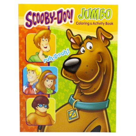 Scooby-Doo! Green Background Cover Coloring & Activity Book](Scooby Doo Coloring Pages Halloween)