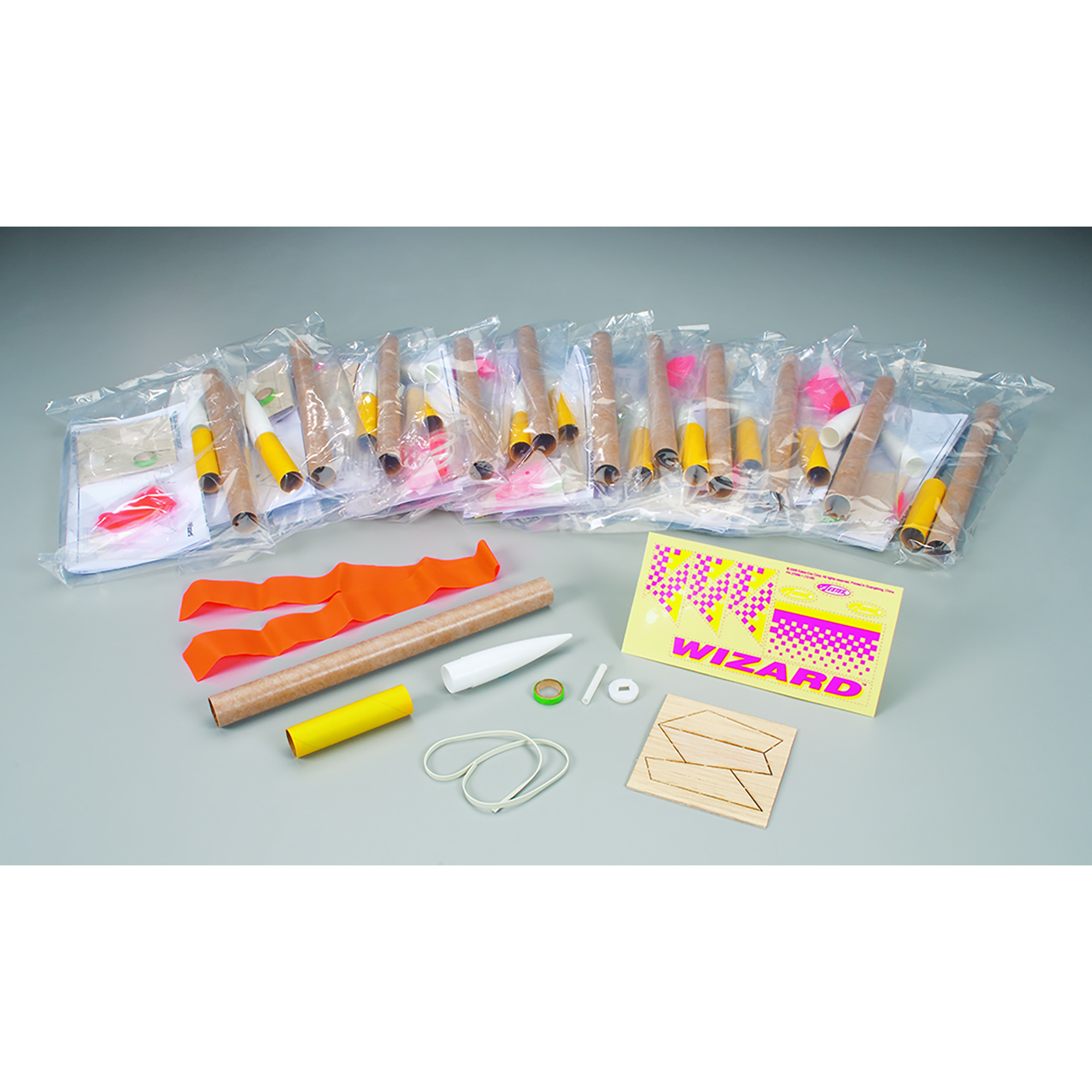 Estes Wizard Flying Model Rocket Bulk Pack by Estes-Cox Corp.