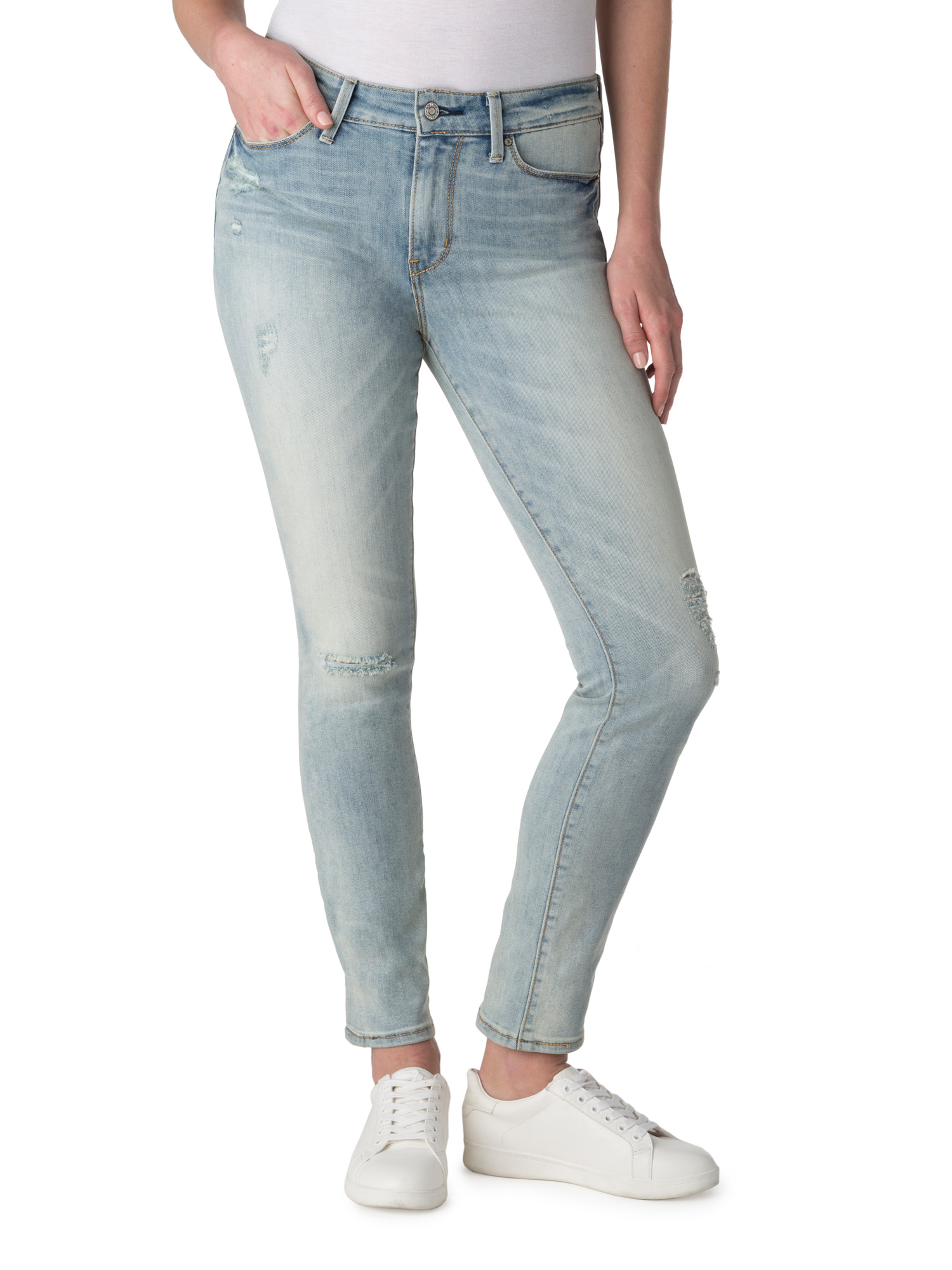 Signature by Levi Strauss & Co. Women's High Rise Slim Jeans