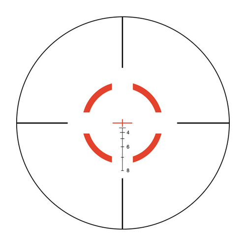 Trijicon VCOG 1-6x24 Riflescope with TA51 Mount, Segmented Circle Crosshair .2 by Trijicon