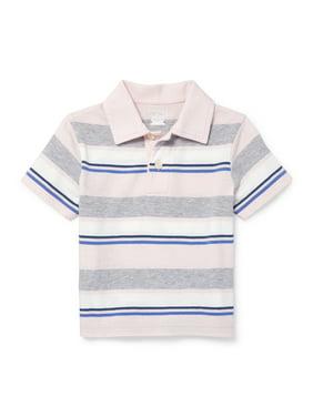 8f36fc3bcd483b Product Image Short Sleeve Stripe Polo (Baby Boys   Toddler Boys)