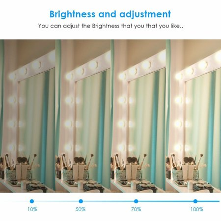 LuckyFine Hollywood DIY Vanity Lights Strip Kit for ...