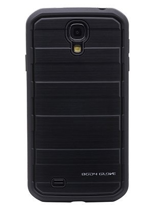 Body Glove Rise Case for Samsung Galaxy S4 Black Brushed Metal by Body Glove