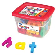 Jumbo AlphaMagnets- Multicolored Lowercase (Set of 42), Alphabet PCS Stamps Set Alphamagnets Combo Math Magnets AlphaMagnets pieces JUMBO 214 Lowercase and.., By Educational Insights