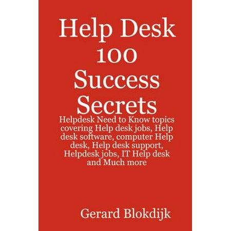 Excellent Help Desk 100 Success Secrets Helpdesk Need To Know Topics Covering Help Desk Jobs Help Desk Software Computer Help Desk Help Desk Support Interior Design Ideas Skatsoteloinfo