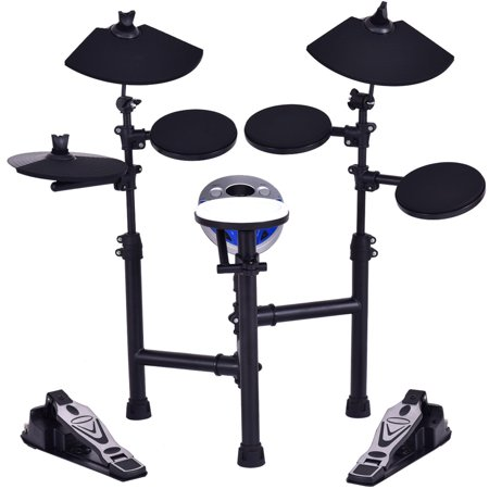Gymax Electronic Drum Set Kit w/ 7.5