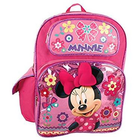 Disney Minnie Mouse 16 Large Backpack - image 1 of 1