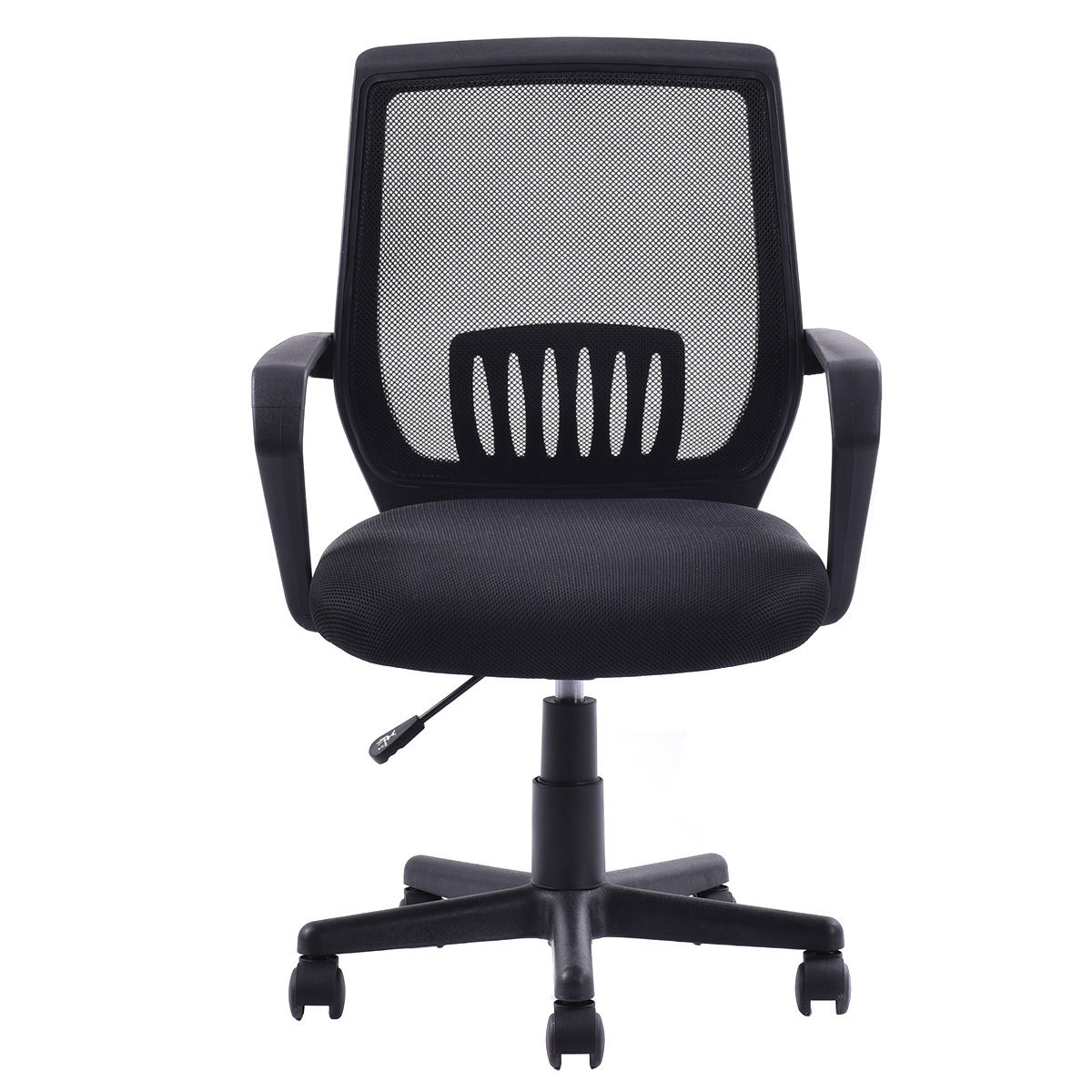 costway modern ergonomic mid-back mesh computer office chair desk
