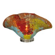 Dale Tiffany AA13053 Red Sea Favrile Accent Lamp