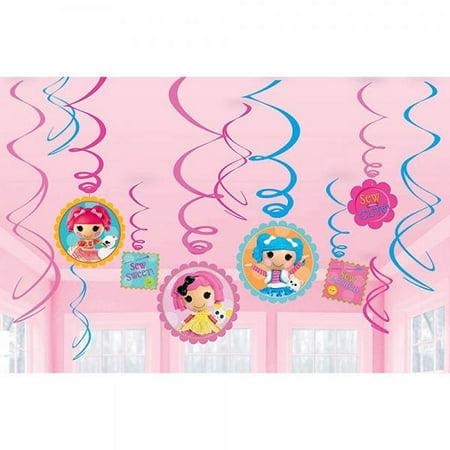 Lalaloopsy Swirl Decorations - Lalaloopsy Party Supplies