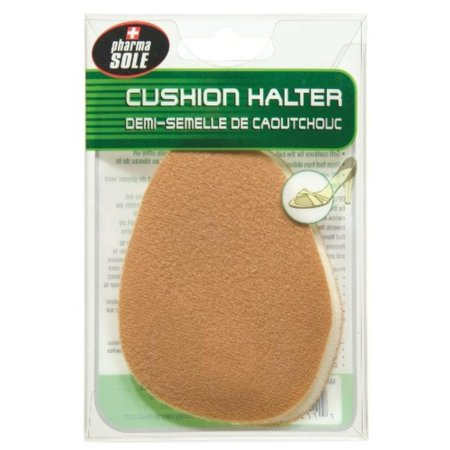 Moneysworth & Best Non-Slip Ball of Foot Suede Cushion Halter (Tan), Made of tan suede By Moneysworth and Best Shoe Care