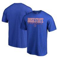 Boise State Broncos Fanatics Branded True Sport Football T-Shirt - Royal