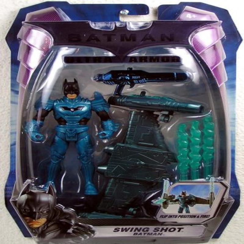 Mattel Batman SWING SHOT Figure by
