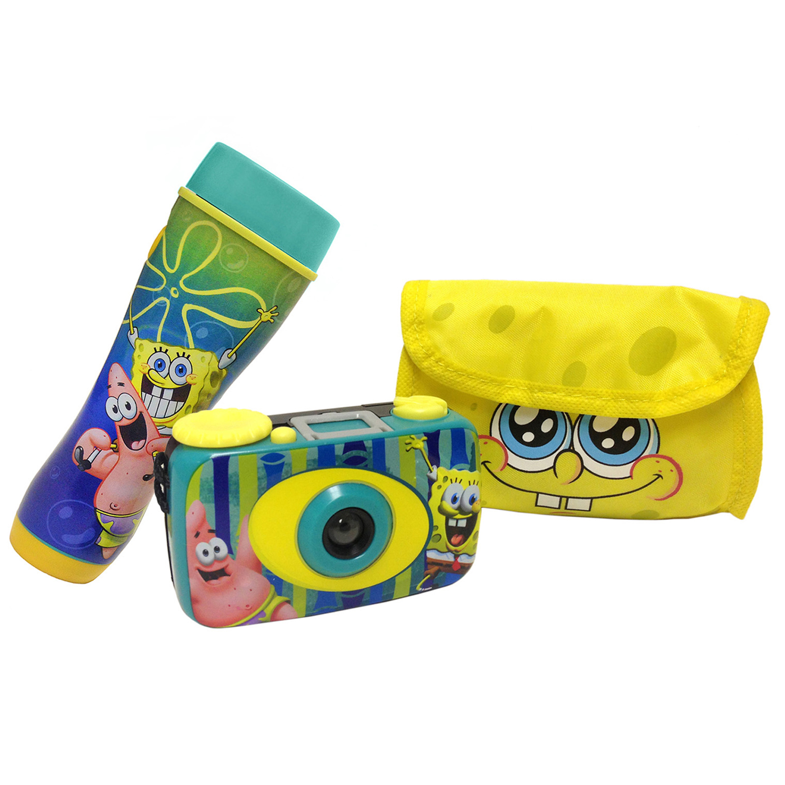 SpongeBob Squarepants Flashlight and Camera Kit
