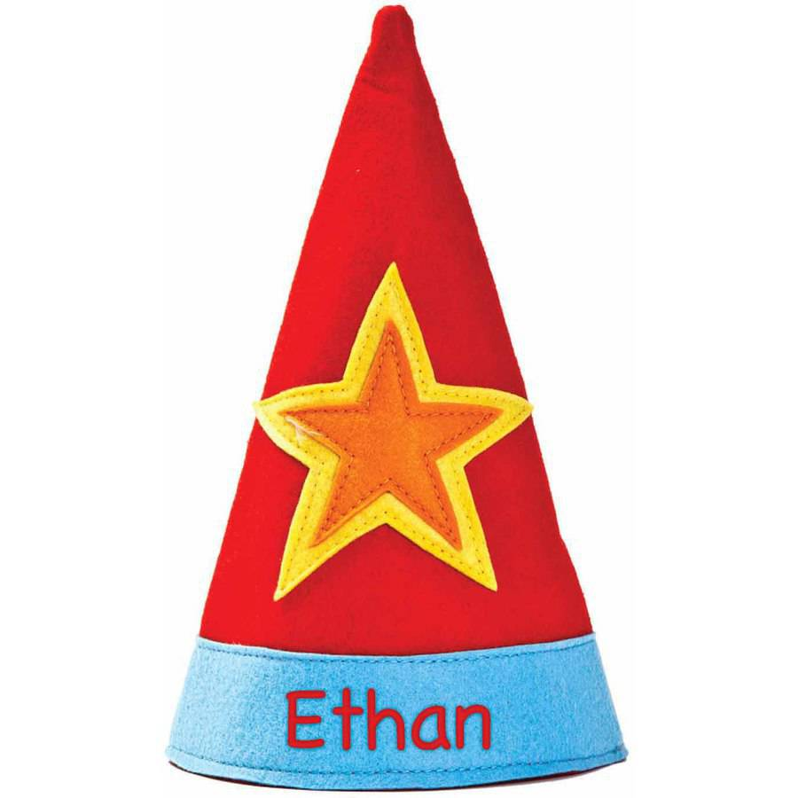 Personalized Star Party Hat