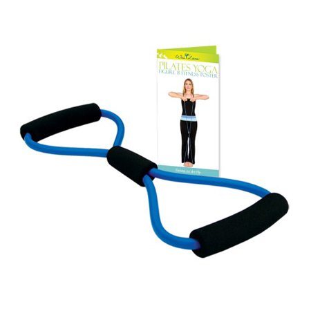 Home Gym Equipment: Figure-8 Fitness Kit with Poster