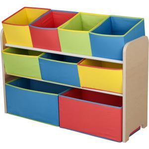 children deluxe toy organizer with bins toy storage kids room