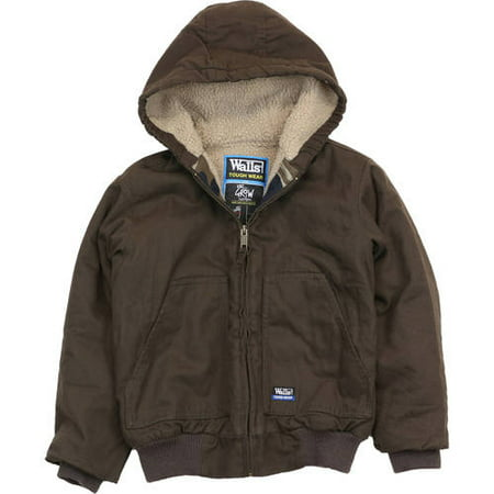 e825f8a1f Walls - Walls Industries Walls Boys Sherpa Ins Hooded Jacket ...
