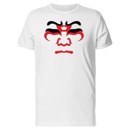 Japanese, Drama Kabuki Mask Tee Men's -Image by Shutterstock