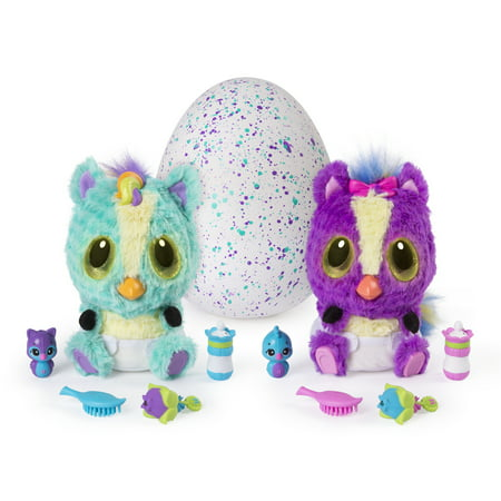 Hatchimals, HatchiBabies Ponette, Hatching Egg with Interactive Toy Pet Baby (Styles May Vary), for Ages 5 and Up - Dinosaur Eggs Hatching