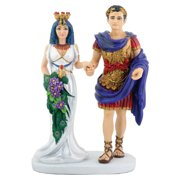 Egyptian Cleopatra with Mark Antony Statue Figurine