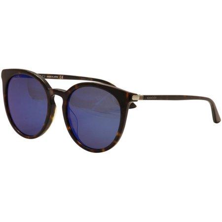 516f51d366 Gucci - Gucci GG0064SK 003 Havana Brown Sunglasses 55mm - Walmart.com