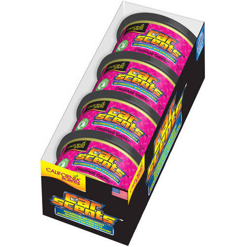 California Car Scents, 4-Unit Tray, Coronado Cherry
