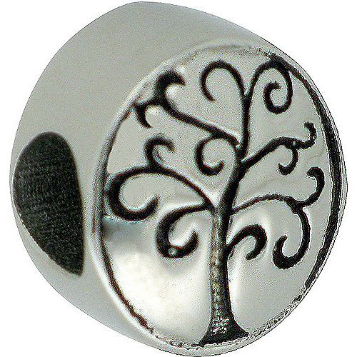 Connections from Hallmark Stainless Steel Tree Charm