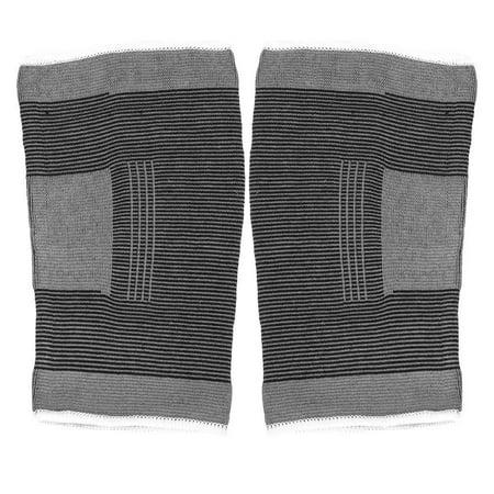 TOPINCN Le coton a tricoté les genouillères sportives chaudes élastiques de basket-ball de football de volley-ball en cours d'exécution de soutien de genoux, enveloppe de genou, appui de genou - image 7 de 8