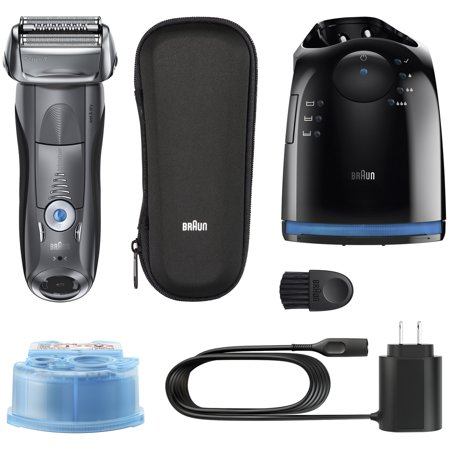 braun series 9 9295cc wet dry electric shaver with clean charge system 6 pc. Black Bedroom Furniture Sets. Home Design Ideas