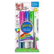 KWIK STIX SOLID PAINT 3CT WITH 3 TUBES GLITTER CARDED