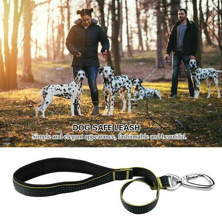 HURRISE Collier de chien en nylon laisse la formation de marche en toute sécurité laisse avec boucle de verrouillage, laisse de chien laisse, laisse de chien - image 3 de 8