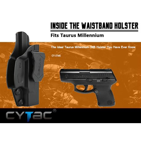 CYTAC Inside the Waistband Holster | Gun Concealed Carry IWB Holster | Fits Taurus Millennium /