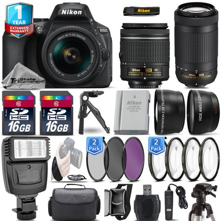 Nikon D5600 DSLR Camera + 18-55mm VR + Nikon 70-300  + EXT BATT + 1yr (Nikon D3300 Sample Images With 18 55)