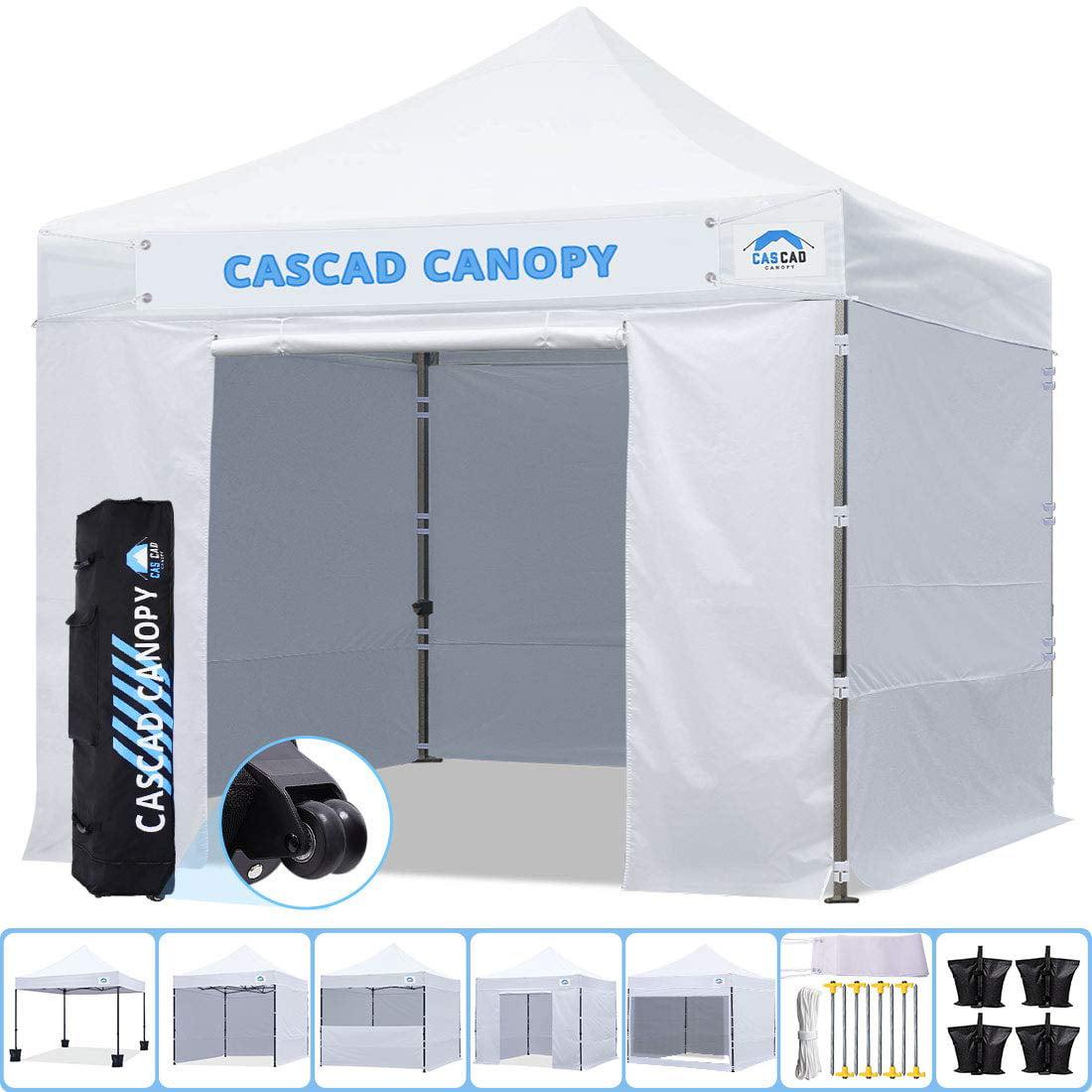 Cascad Canopy 10 X10 Ez Pop Up Commercial Instant Tent