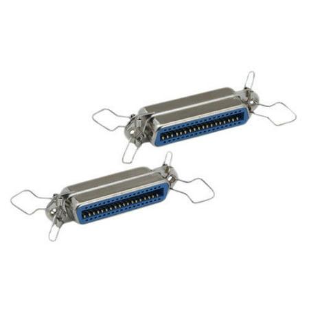Kentek Mini CN36 36 Pin Female to Female F/F Centronic Parallel Printer IEEE 1284 Mini Adapter Gender Changer Coupler SCSI
