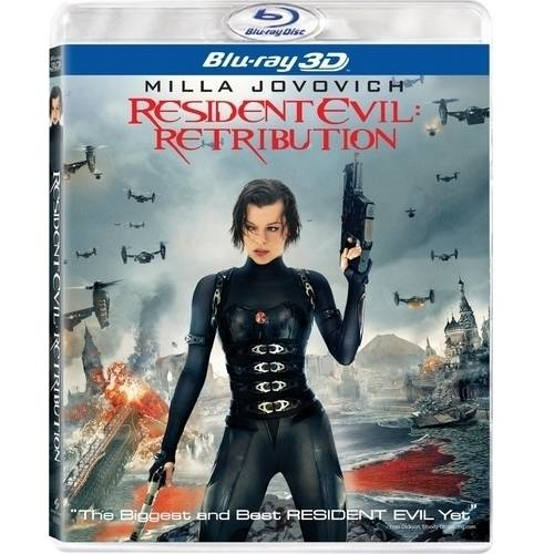 Resident Evil: Retribution (3D Blu-ray   UltraViolet) (With INSTAWATCH) (Widescreen)