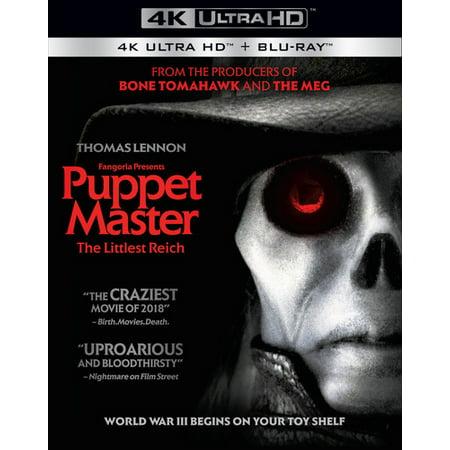 Puppet Master: The Littlest Reich 4K + Blu-ray](Puppet Master Blade)