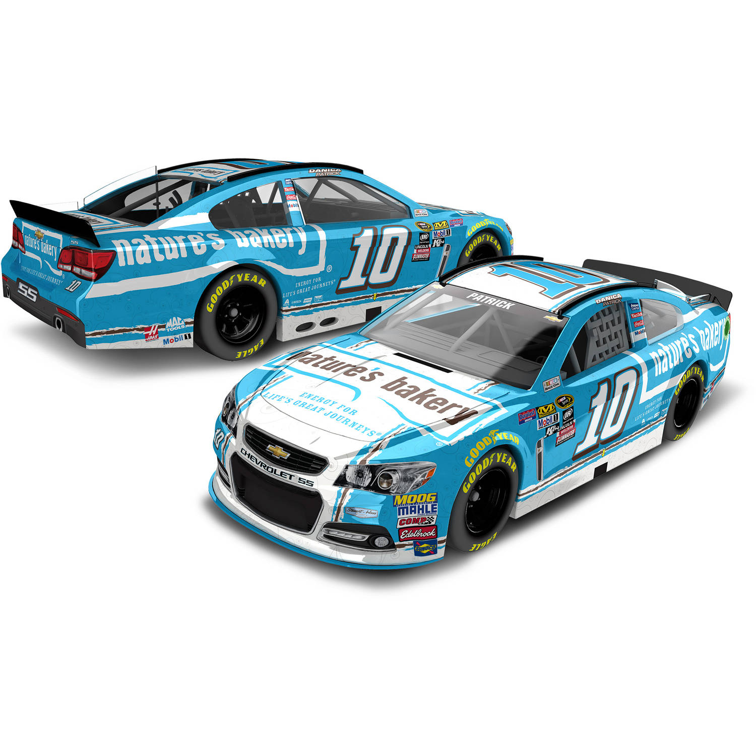 Lionel Racing Danica Patrick #10 Nature's Bakery 2016 Chevrolet SS Nascar Diecast Car,... by Generic