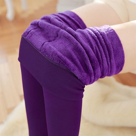 Blue Velvet Pants (Women High Elastic Thick Leggings Autumn Winter Warm Velvet Pants New)